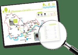 carte voie verte piste cyclable