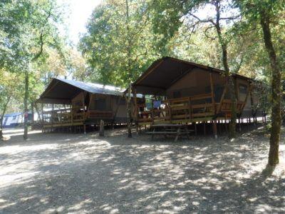 Location tente équipée camping Dordogne | La Peyrugue - Camping 3 étoiles | Périgord Noir