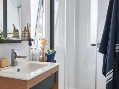 salle de douche-mobil home-nirvana